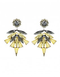 Multi-Stone Clip Earrings | Nicole Romano