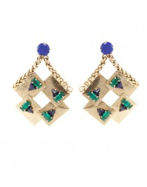 Geometric Clip Earrings | Nicole Romano