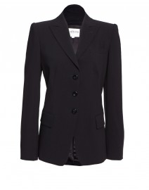 Wool Three Button Jacket | Armani Collezioni