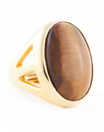 Tiger's Eye Ring | Kenneth Jay Lane