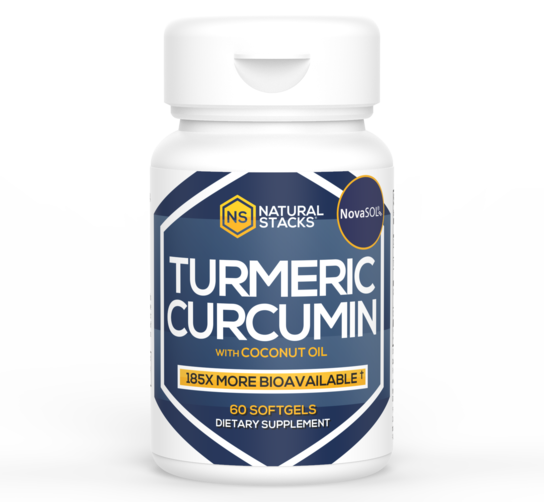Tumeric Curcumin with Organic Coconut Oil