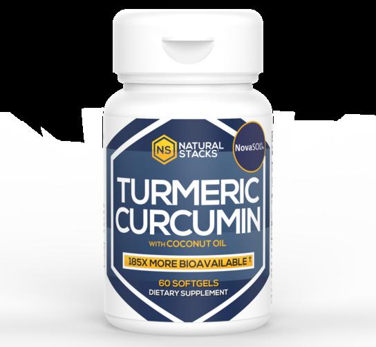 Tumeric Curcumin with Organic Coconut Oil