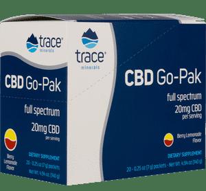 CBD Go-Pak full spectrum 20mg CBD supplement