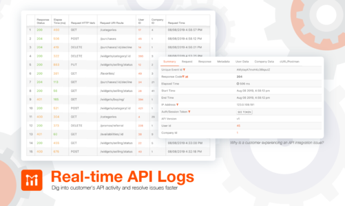 Dig into a customer's API Activity
