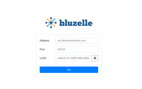 BluzelleStudioLogin