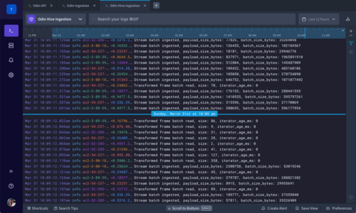 Heroku Logging - Dark Theme