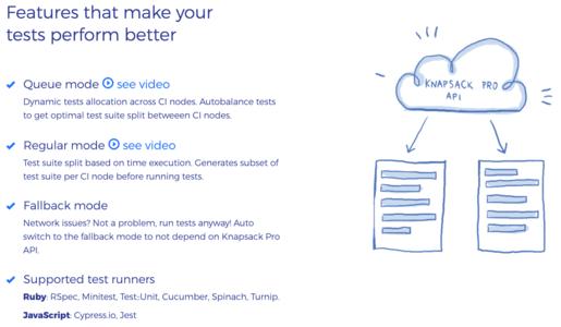 Knapsack Pro Features