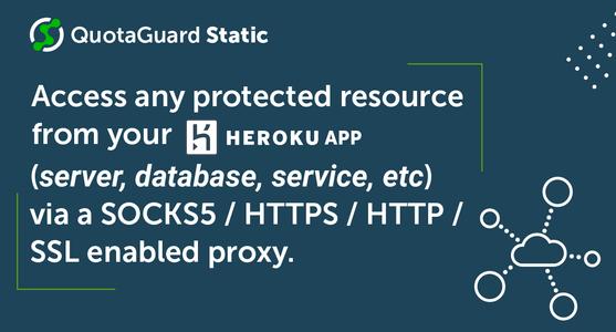 QuotaGuard Static IP Description