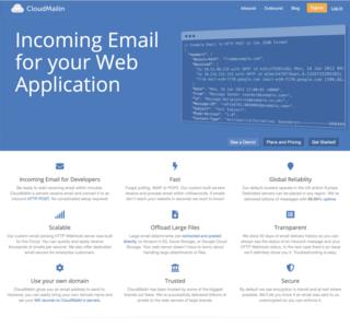 CloudMailin Homepage - Receive email on Heroku via HTTP
