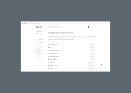 Auth0 - Add-ons - Heroku Elements