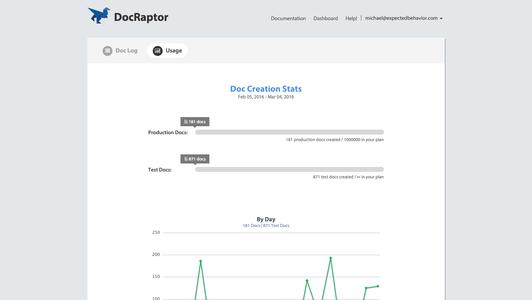 DocRaptor - Add-ons - Heroku Elements