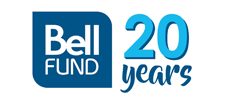 logoSingle : Logo Bell Fund 20Years : 225 x 100
