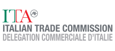 logoSingle : Logo Italian Trade Commision : 225 x 100