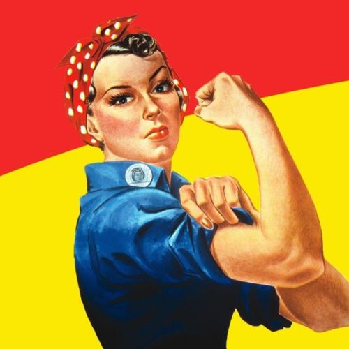 Curious Minds Rosie Riveter