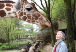 Woman Who Loves Giraffes 1