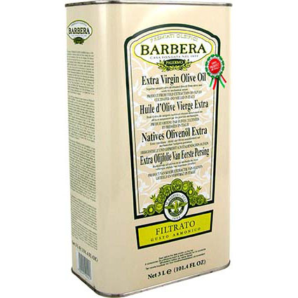 Barbera Siciliani Filtered Extra Virgin Olive Oil