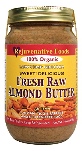 Rejuvenative Foods Almond Butter Low-Temp Ground Fresh Raw