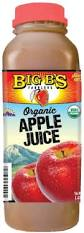 Big B's Organic Apple Juice