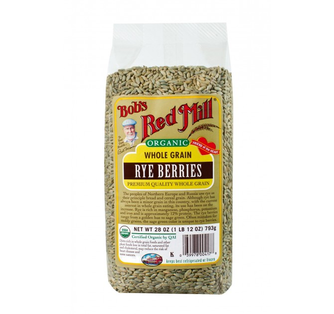 Bob's Red Mill Organic Rye Berries