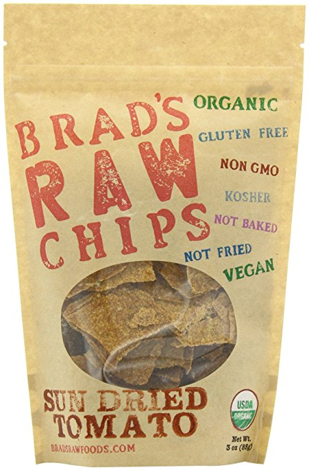 Brad's Raw Chips Sun Dried Tomato Raw Chips