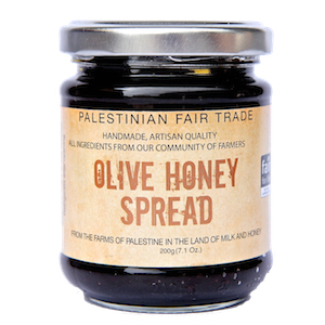 Canaan Fair Trade Olive Honey Spread