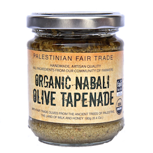 Canaan Fair Trade Organic Green Olives Tapenade