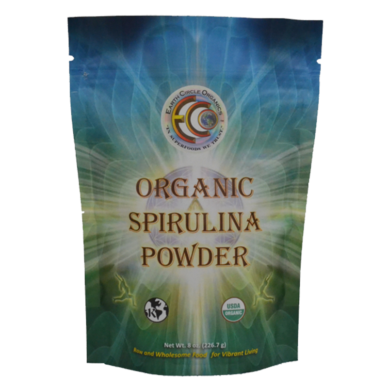 Earth Circle Organics Raw Spirulina Powder
