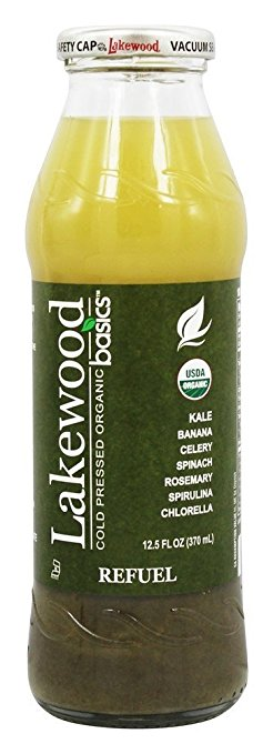 Lakewood Cold Pressed Organic Juice Basics Refuel - 12.5 oz.