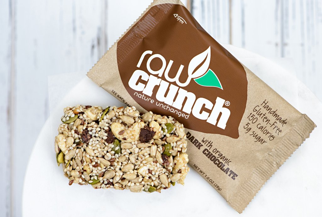 Raw Crunch Dark Chocolate Crunch Bar