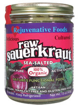 Rejuvenative Foods Sea-Salted Sauerkraut Raw Cultured