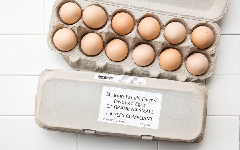 St. John Family Farms Pastured Eggs