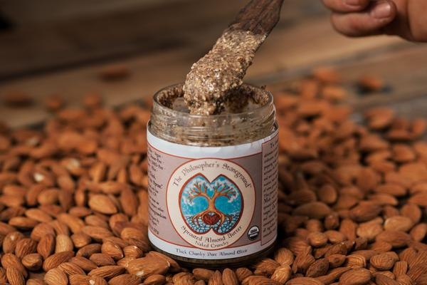 The Philosopher's Stoneground Crunchy Almond Butter 8 oz