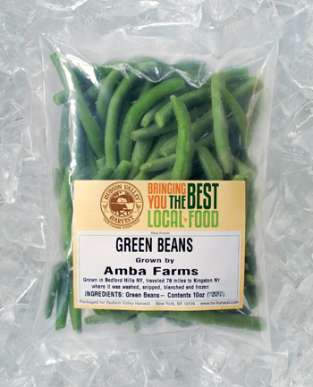 Hudson Valley Harvest Organic Green Beans - Frozen