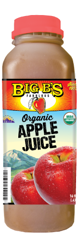 Big B's Apple Juice Organic 100%