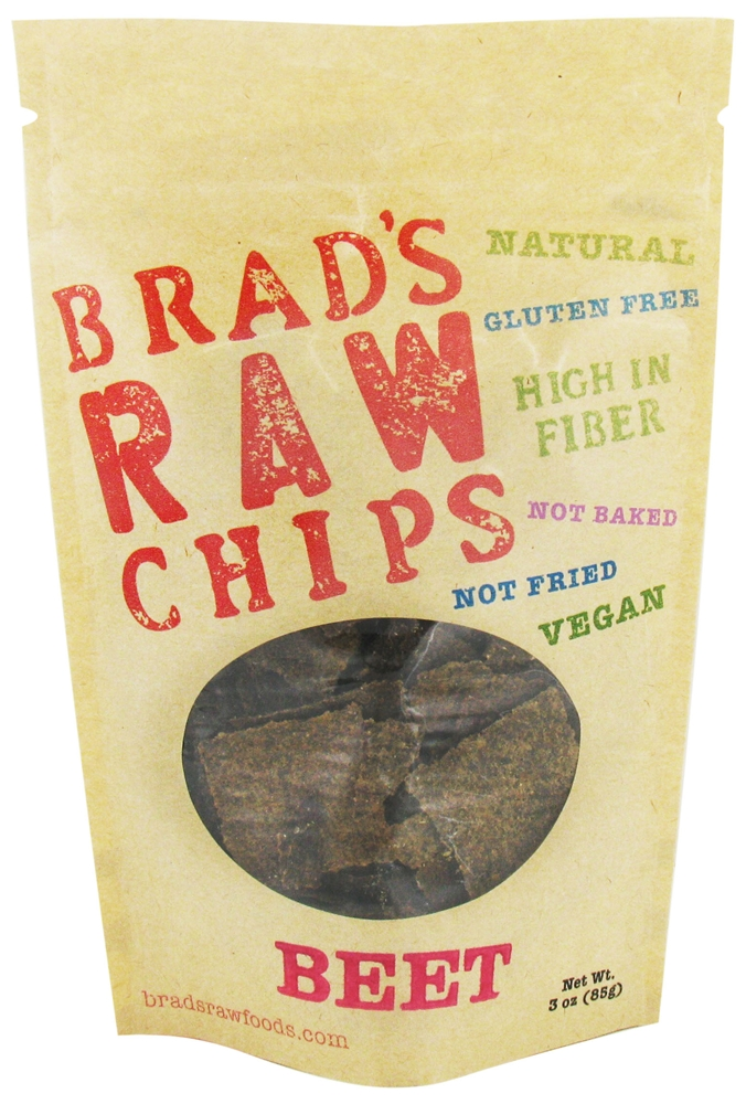 Brad's Raw Chips Raw Beet Chips