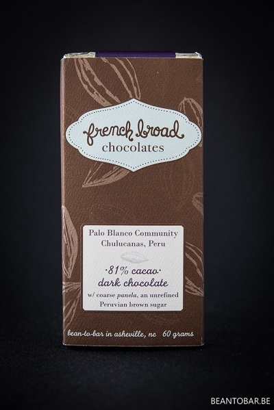 French Broad Chocolates Chulucanas 81%