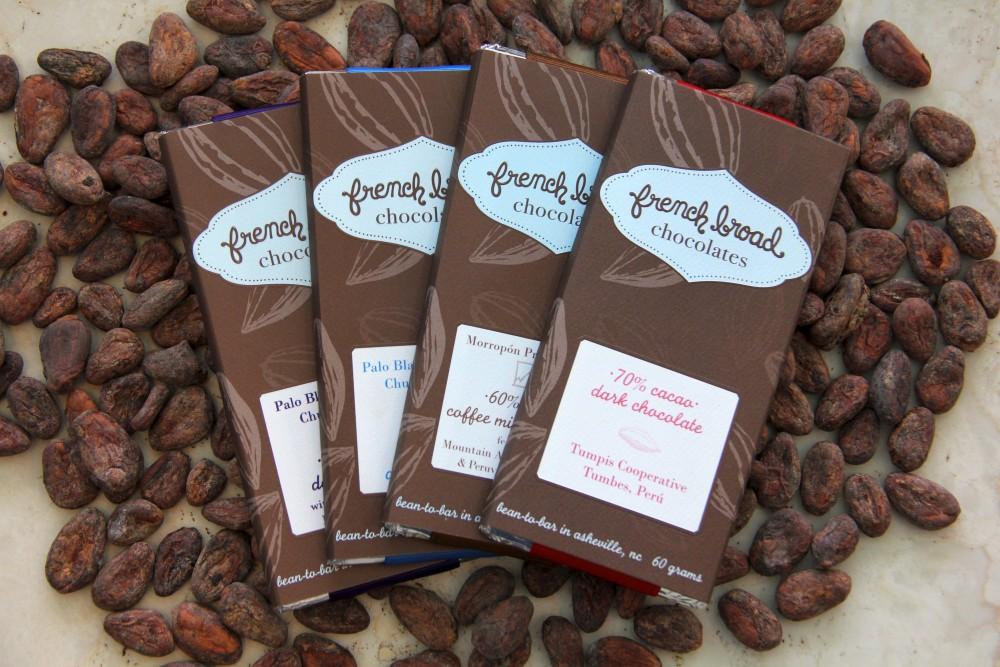 French Broad Chocolates Tumbes Lapsang Souchong & Sea Salt 70%