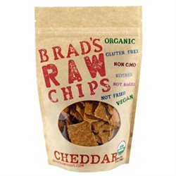 Brad's Raw Chips Kale Chips - Cheddar