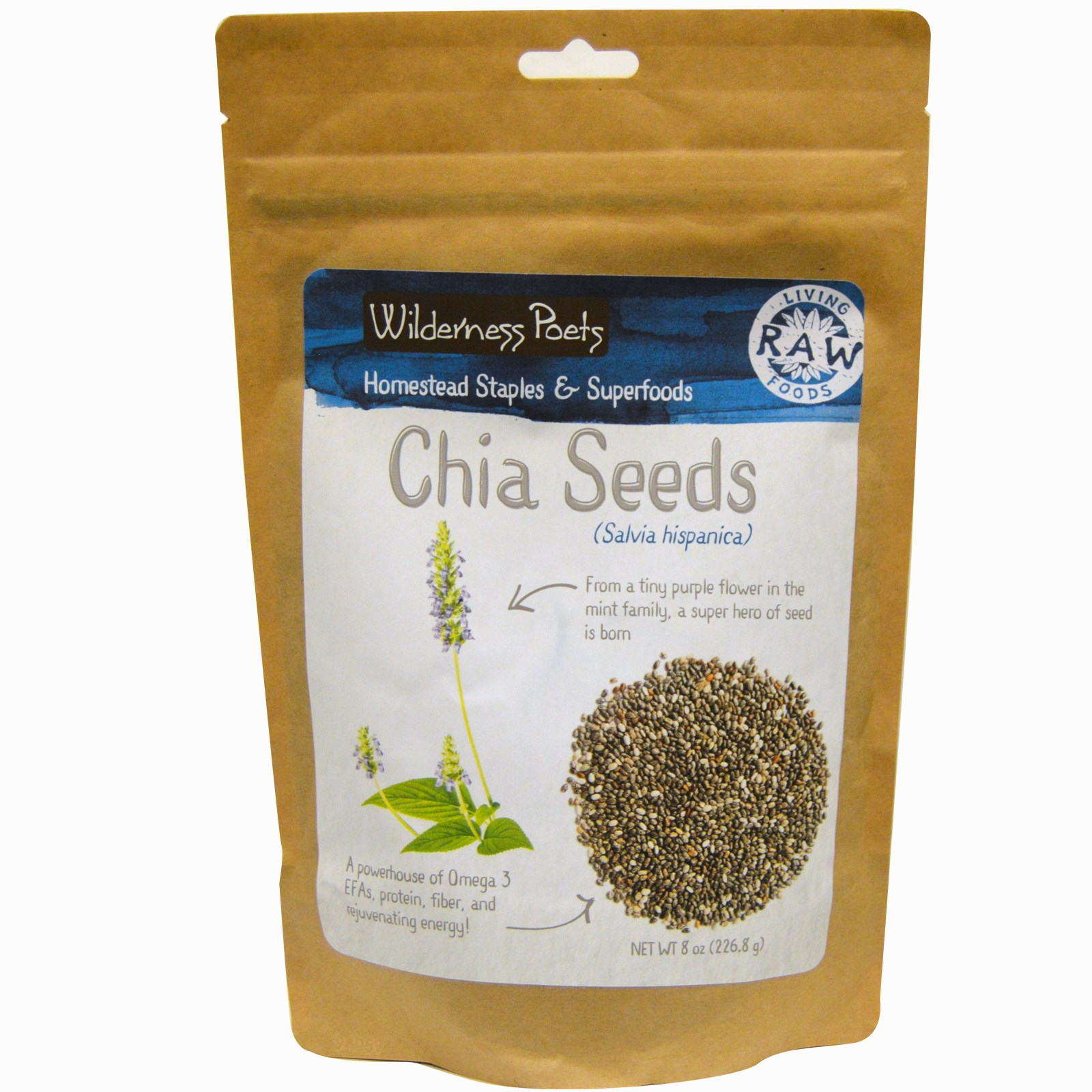 Wilderness Poets White Chia Seeds
