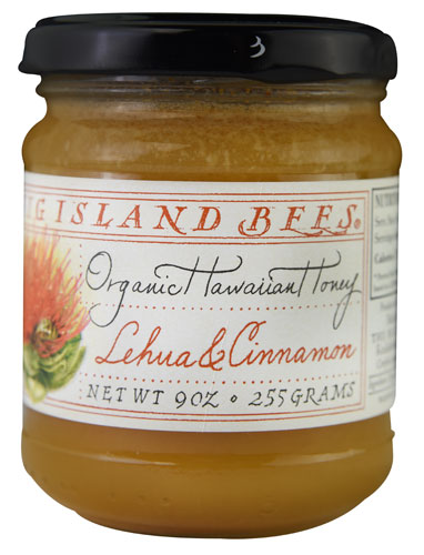 Big Island Bees Cinnamon Honey