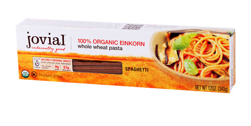 Jovial Whole Grain Einkorn Spaghetti