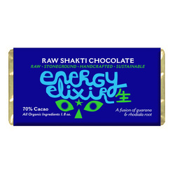 Raw Shakti Energy Elixir Chocolate Bar