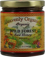Heavenly Organics Organic Honey, Wild Forest