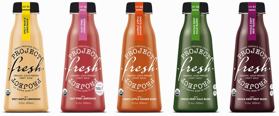 Project Fresh Craft Juice Carrot Apple Ginger 15.2 oz