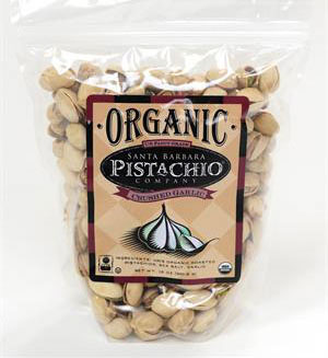 Santa Barbara Pistachio Co Crushed Garlic Pistachios