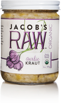 Jacob's Raw Organic Kraut - Garlic