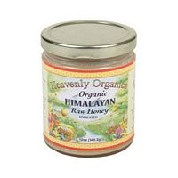 Heavenly Organics White Himalayan Raw Unheated Honey