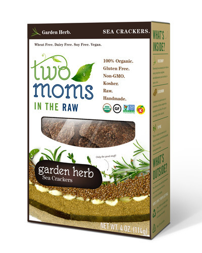 Two Moms in the Raw Sea Cracker - Garden Herb