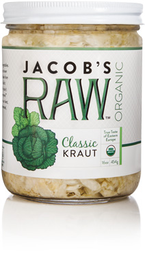 Jacob's Raw Organic Kraut - Classic