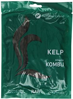 Seaweed Iceland Sweet Kelp Royal Kombu Raw
